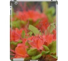 Orange Azalea iPad Case/Skin