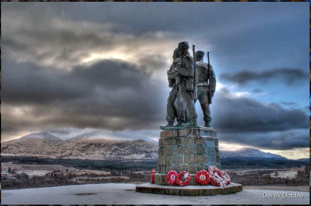 Monument of War by Derek Dobbie