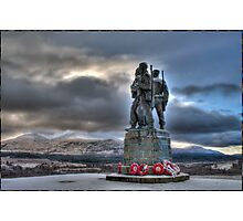Monument of War Photographic Print