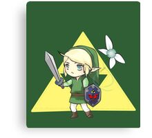 Chibi Link, The Legend of Zelda Canvas Print