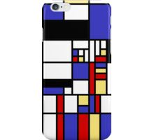 Mondrian's cat iPhone Case/Skin
