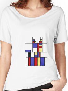 Mondrian's cat Women's Relaxed Fit T-Shirt