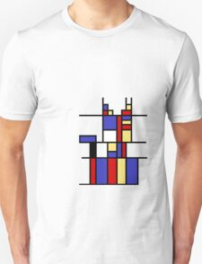 Mondrian's cat Unisex T-Shirt