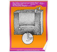 The Velvet Underground Vulcan Gas Co. Poster & Sticker Poster