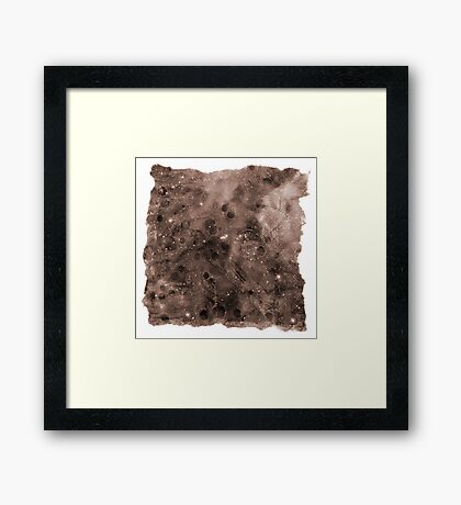 The Atlas of Dreams - Plate 8 Framed Print