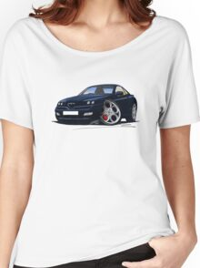Alfa Romeo GTV Dark Blue Women's Relaxed Fit T-Shirt