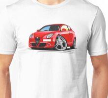 Alfa Romeo MiTo Red Unisex T-Shirt