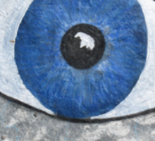 Greek Eye Sticker