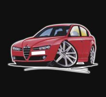 Alfa Romeo 159 Red One Piece - Short Sleeve