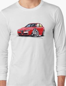 Alfa Romeo 159 Red Long Sleeve T-Shirt