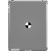 Op Art Color Test Pattern geekery geek stuff iPad Case/Skin
