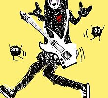 Noface can ROCK OUT! by KaylaPhan