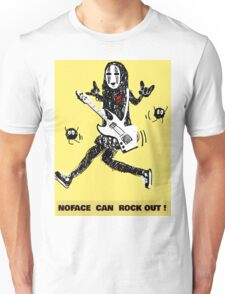 Noface can ROCK OUT! Unisex T-Shirt