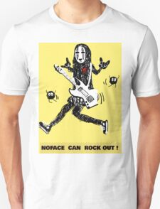 Noface can ROCK OUT! T-Shirt