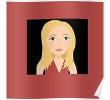 """""""One Girl In All The World"""" - Buffy Summers Stylized Print Poster"""