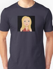 """One Girl In All The World"" - Buffy Summers Stylized Print Unisex T-Shirt"