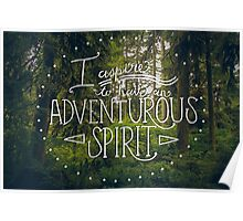 Adventurous Spirit Poster