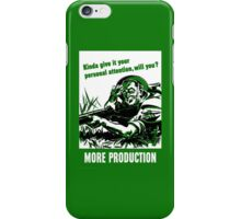 More Production -- World War Two iPhone Case/Skin
