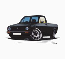 VW Caddy Black by Richard Yeomans