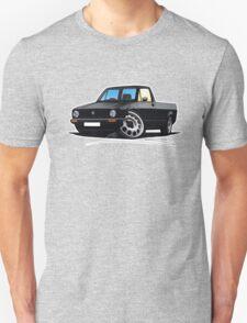 VW Caddy Black Unisex T-Shirt