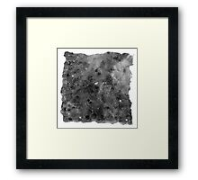 The Atlas of Dreams - Plate 8 (b&w) Framed Print