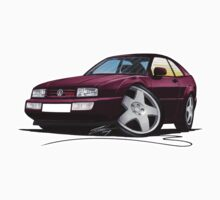 VW Corrado Maroon by Richard Yeomans