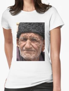 Old Man, Abarqu Womens Fitted T-Shirt