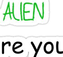 Loaded Question Sticker