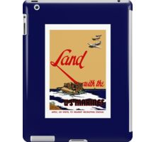 Land With The US Marines iPad Case/Skin