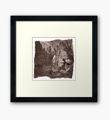The Atlas of Dreams - Plate 9 Framed Print