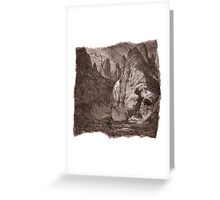 The Atlas of Dreams - Plate 9 Greeting Card