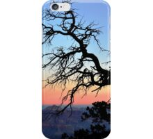 Overlooking the Grand Canyon at Sunset iPhone Case/Skin