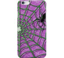 A Creepy Crawler and the Wonderful Web-iPhone Case iPhone Case/Skin