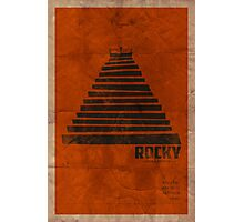 """Vintage Movie Poster inspired by """"Rocky"""" Photographic Print"""