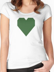 Mughal Green Women's Fitted Scoop T-Shirt