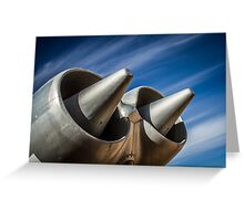 Engines Greeting Card