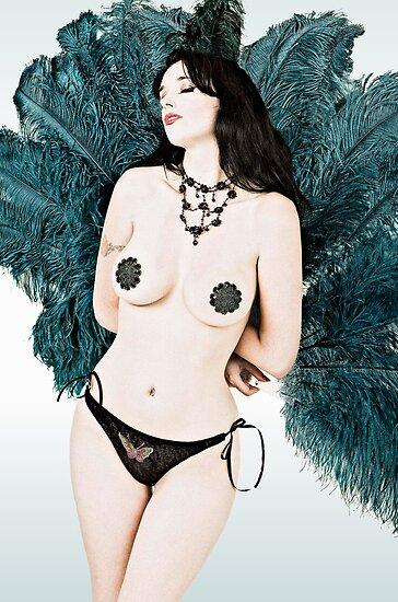 Samantha Burlesque Doll by Samantha Doll