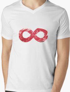 Infinitee No. 8 Mens V-Neck T-Shirt
