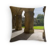 Worcester College, Oxford Throw Pillow
