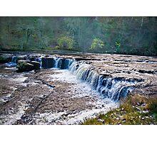 The Upper Falls - Aysgarth. Photographic Print
