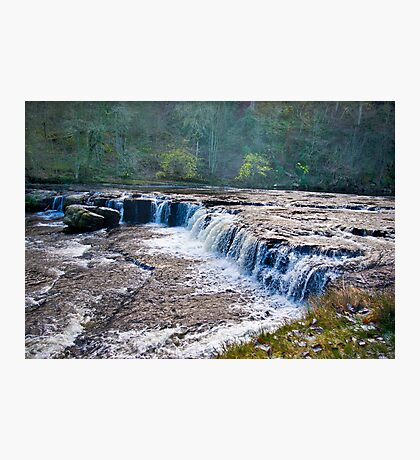 The Upper Falls - Aysgarth. Photographic Print