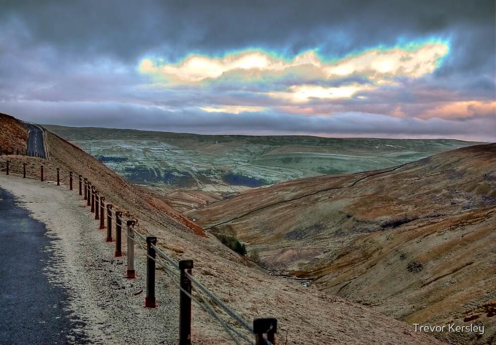 Swaledale from Buttertubs Pass by Trevor Kersley