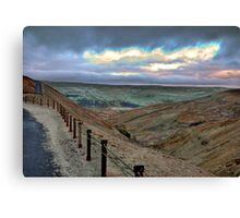 Swaledale from Buttertubs Pass Canvas Print