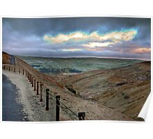 Swaledale from Buttertubs Pass Poster