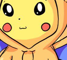 Charizard Hoodie Pikachu  Sticker