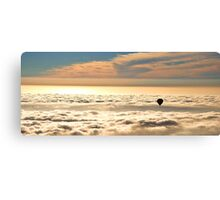 Up Above the Clouds in a Hot Air Balloon Canvas Print