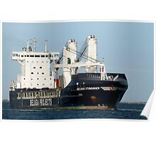Beluga Stavanger - General Cargo Ship Poster