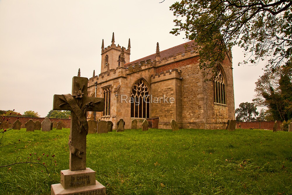 St. Peters Church Doddington Lincs by Ray Clarke