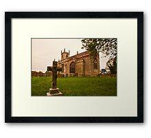 St. Peters Church Doddington Lincs Framed Print