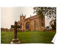 St. Peters Church Doddington Lincs Poster